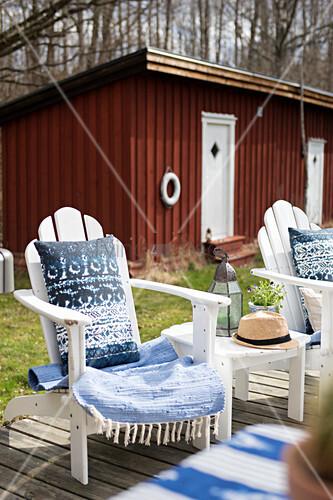 Liegestuhl Terrasse Cheap Terrasse Terrasse Liegestuhl Kiesbeet Chamleon Painters With