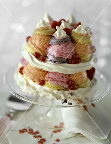 Festliche Torten festliche torte mit vanillecreme und erdbeermousse rezept 1000 ideas about