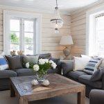 Rustic Solid Wood Coffee Table And Dark Buy Image 11304333 Living4media