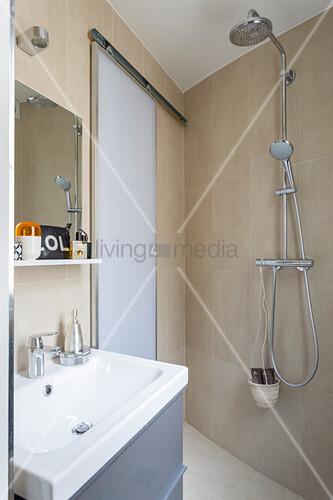 Schiebetren Fr Badezimmer Schiebetur Furs Bad Schiebetr Badezimmer Abschliebar Style Schiebetr