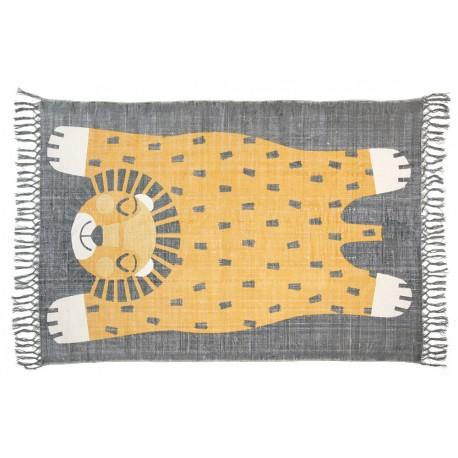 tapis enfant baba gris et jaune nattiot tapis enfants nattiot