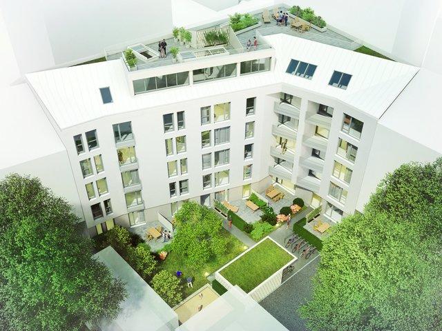 Maxfeldeck Neues Bauprojekt am Stadtpark mit 31 Wohnungen