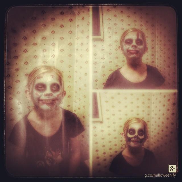 My lovely daughter! #halloween #adesworld #autoeffect #halloweenify #googleplus