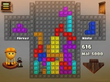 Den Flygande Mattan - en matematisk resa, tetris