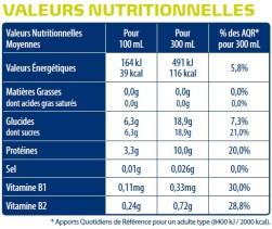 valeur nutritionnelles boisson Apurna