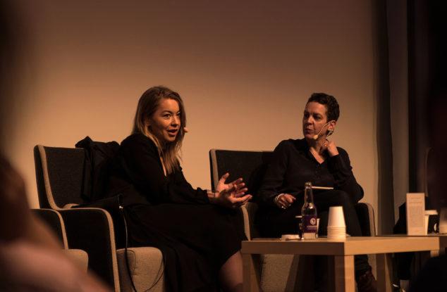 Karolina Ramqvist och Eva Gedin