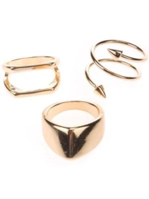 Stone and Locket Gold Arrow Ring online kaufen bei blue