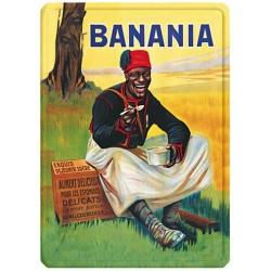 plaque metal 15x21 tirailleur banania