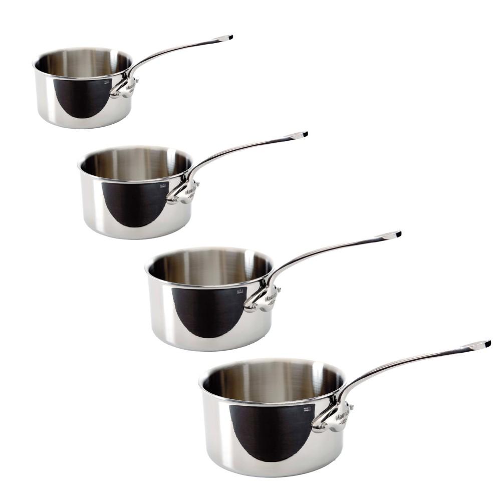 set 4 casseroles m cook mauviel