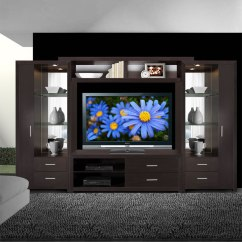 White Corner Units For Living Room Gray And Yellow Rooms Crystal Entertainment Center - Glass Shelves, Accent ...