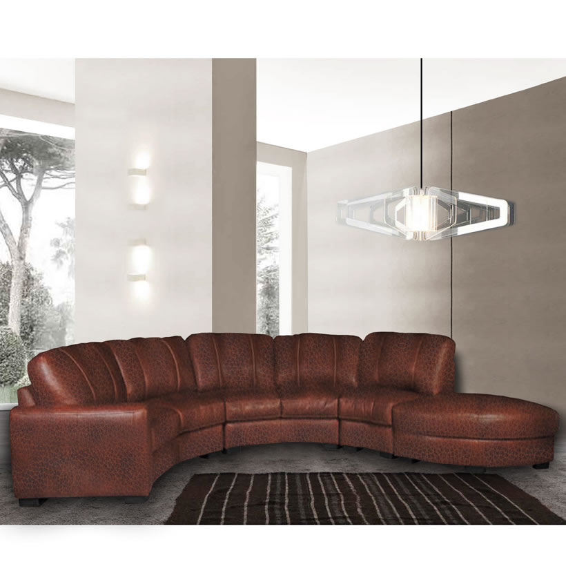 customize your sectional sofa modern design sleeper sofas jonathan - curved in chestnut ...