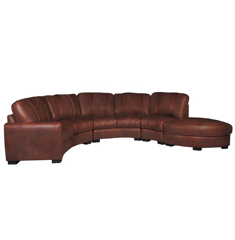 corner storage unit living room open floor plan kitchen dining jonathan sectional - curved sofa in chestnut ...
