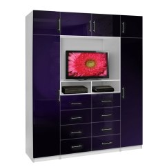 Tall Storage Units For Living Room Organizer Aventa Tv Chest X-tall - With Space And Cabinet ...