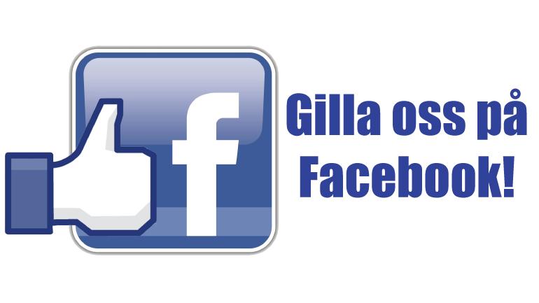 Följ och gilla oss på Facebook