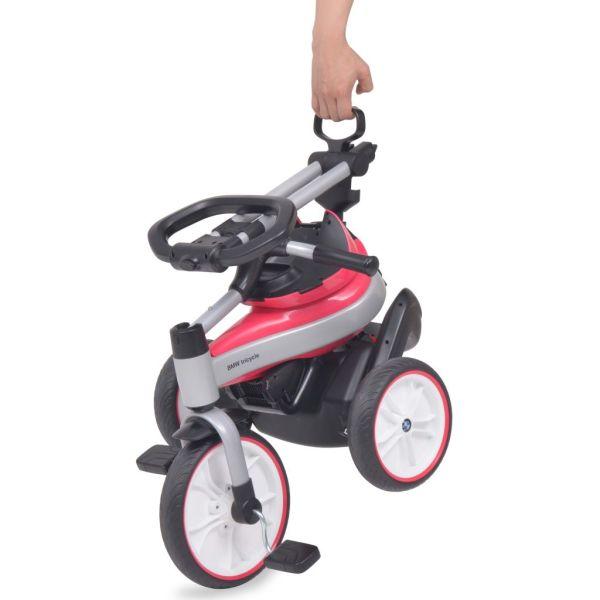 vidaXL Trehjuling för barn BMW rosa