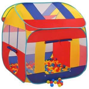 vidaXL Lektält med 300 bollar XXL