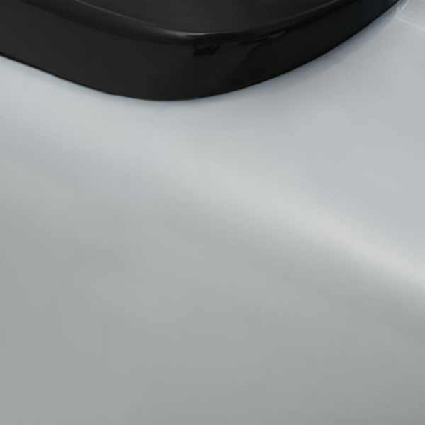 Gåbil för barn med handtag retro-design grå