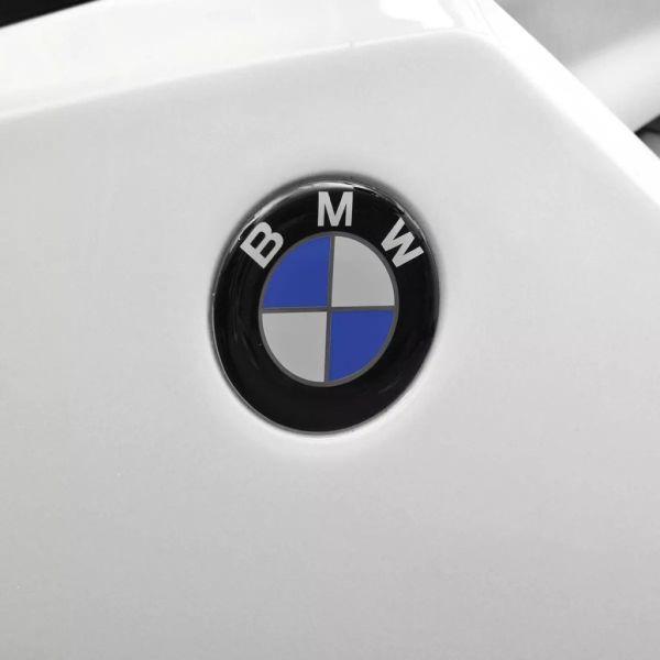 Elmotorcykel för barn BMW 283 vit 6 V