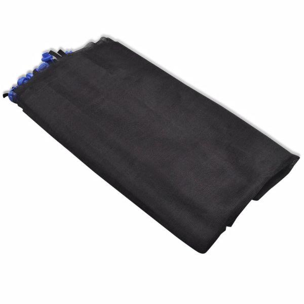 vidaXL Säkerhetsnät PE svart för 3,05 m rund studsmatta