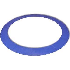 vidaXL Kantskydd PE blå för 10 fot/3,05 m rund studsmatta