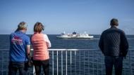 In Zukunft soll ein Tunnel Reisende nach Dänemark bringen. Deutlich schneller als bislang mit der Fähre.