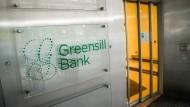 Eingang der Greensill Bank in Bremen