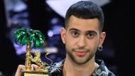 Prominenter Befürworter des Antidiskriminierungsgesetzes: der italienische Sänger Mahmood