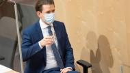 Österreichs Kanzler Sebastian Kurz (ÖVP) am Freitag in Wien