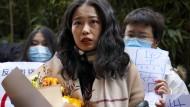Heldin der chinesischen Metoo-Bewegung klagt gegen einen Moderator