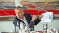 Schwieriger Start: Vorstandschef Jan Mrosik am 30.09.2021 in München.