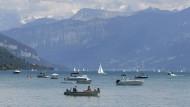 Corona-Sommer 2020: Vor allem Eidgenossen genießen die Schweizer Seen und Berge.