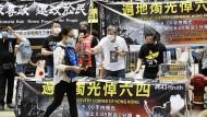 Aktivisten für Demokratie in Hongkong