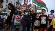 Demonstranten in New York im Juli dieses Jahres