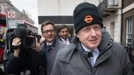 Der ehemalige britische Außenminister Boris Johnson im März in London.