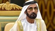 Der Emir von Dubai, Scheich Muhammad bin Raschid Al Maktoum, ist nach Ansicht des Gerichts schuldig.