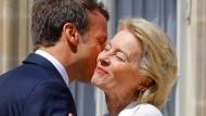 Macron zählt zu den größten Fans der frisch gewählten deutschen EU-Kommissionspräsidentin.