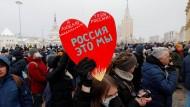 Die Lektion von Belarus: Oppositionelle Russen üben sich in Solidarität