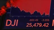 Rote Zahlen für den Dow Jones