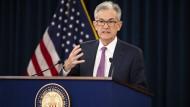 Jerome Powell, Chef der amerikanischen Notenbank Fed.