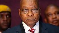 Südafrikas langjähriger Präsident Jacob Zuma