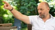 Am liebsten Freund und Helfer: der Hofheimer Hauptkommissar Wolf Baltruschat