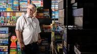 """""""Spielen ist die eleganteste Form des zweckfreien Tuns"""", sagt Harald Schrapers, 56."""