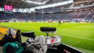 Das waren noch Zeiten: Zum Spiel von Leipzig und Bremen am 15. Februar waren noch Zuschauer zugelassen.