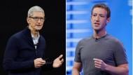 Apple und Facebook: 100 Milliarden Dollar Umsatz in einem Quartal