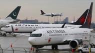 Air Canada hat besonders viele Boeing 737 MAX im Einsatz.