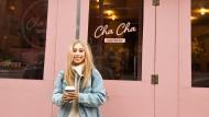 Kaffee-Kulisse: Vor einem Influencer-Café an der Broomer Street in New York