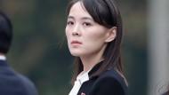 Kim Yo-jong, die Schwester des nordkoreanischen Machthabers Kim Jong-un, im März 2019.