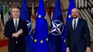 Mehr tun, aber nicht ohne die Nato