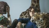 Die französische Künstlerin, Fotografin und Schriftstellerin Sophie Calle