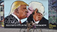 Sowohl Trump als auch Johnson winken mit ihrem zerstörerischen Potential. Nur schätzen sie ihre Position falsch ein.